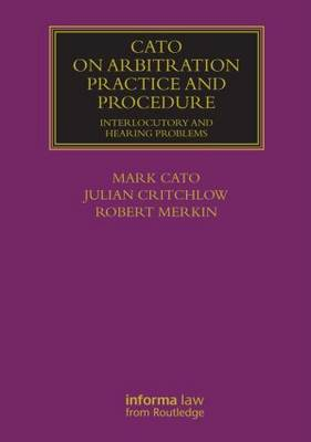 Arbitration Practice and Procedure - Lloyd's Commercial Law Library (Hardback)