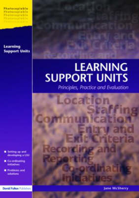Learning Support Units: Principles, Practice and Evaluation (Paperback)