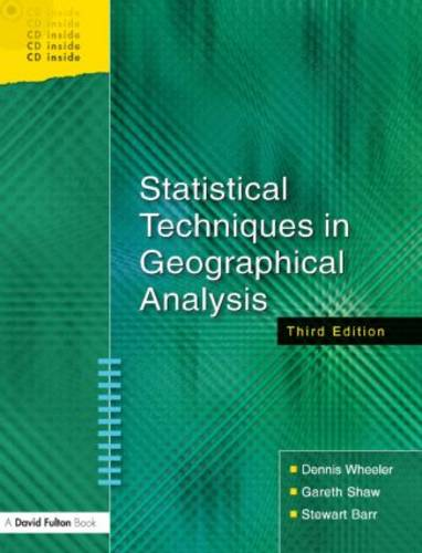 Statistical Techniques in Geographical Analysis (Paperback)