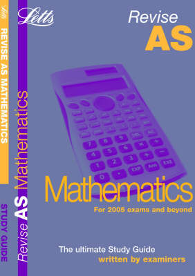 Maths: Study Guide - Letts AS Success (Paperback)