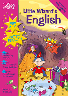 Little Wizard's English Age 3-4 - Letts Magical Topics (Paperback)