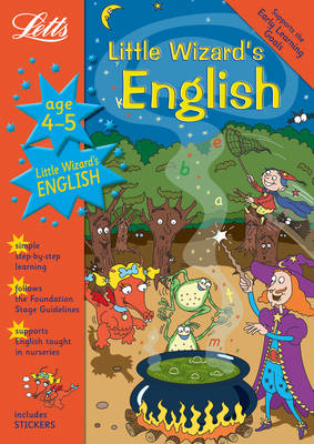 Little Wizard's English Age 4-5 - Letts Magical Topics (Paperback)