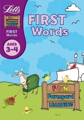 First Words Age 3-4 - Letts Fun Farmyard Learning (Paperback)
