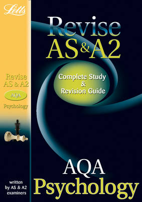 AQA AS and A2 Psychology: Study Guide - Letts A Level Success (Paperback)