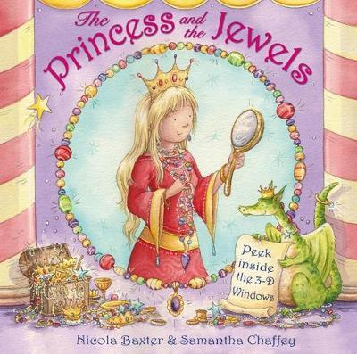 Princess & The Jewels: Peek inside the 3-D windows (Hardback)