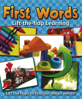 Lift-the-Flap Learning: First Words (Board book)