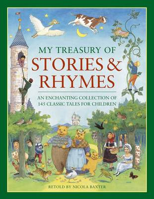 My Treasury of Stories and Rhymes (Paperback)