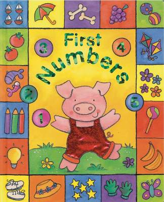 First Numbers - Sparkly Learning (Board book)
