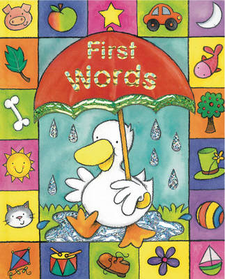 Sparkley Learning: First Words - Sparkly Learning (Board book)