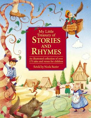 My Little Treasury of Stories and Rhymes (Hardback)