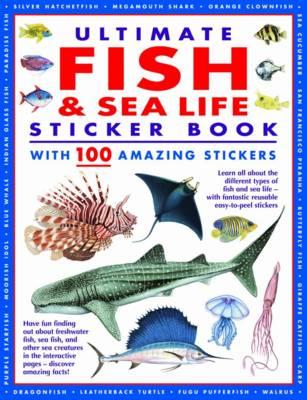 Ultimate Fish & Sea Life Sticker Book (Paperback)