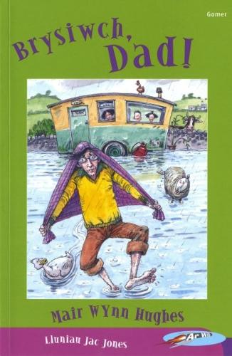Cyfres ar Wib: Brysiwch, Dad! (Paperback)