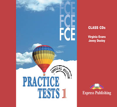 FCE Practice Tests 1: Class CDs - Special Edition (CD-Audio)