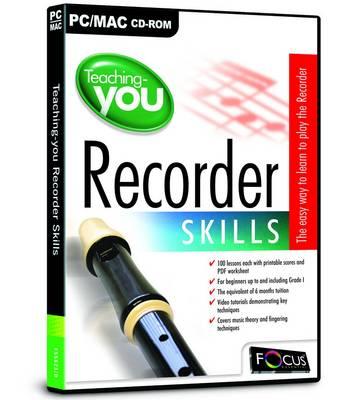 Teaching You Recorder Skills (CD-ROM)
