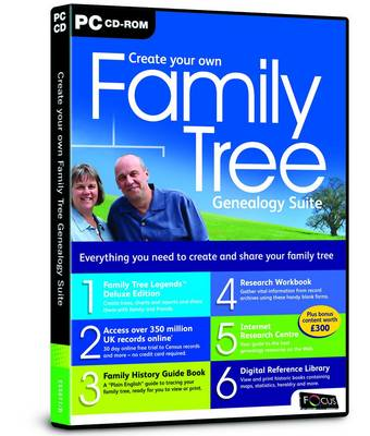 Create Your Own Family Tree Genealogy Suite (ESS677/D) (CD-ROM)
