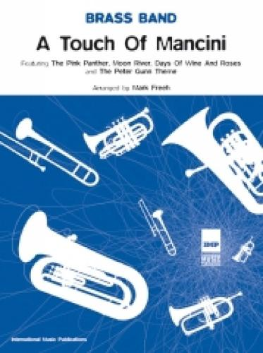 A Touch of Mancini: (Brass Band Score and Parts) (Paperback)