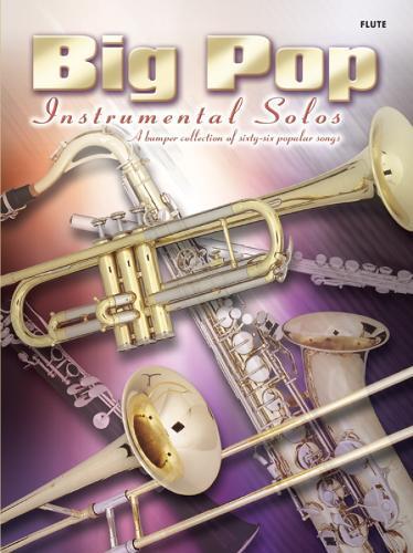 Big Pop Instrumental Solos (Flute) (Paperback)
