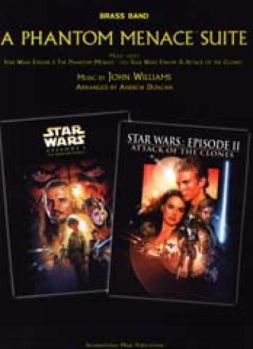 A Phantom Menace Suite: (Brass Band Score and Parts) (Paperback)