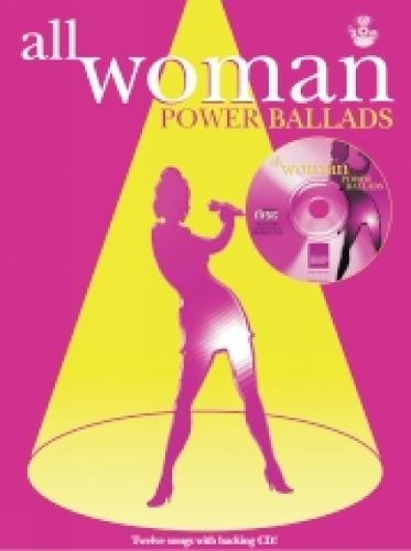 Power Ballads: (Piano, Vocal, Guitar) - All Woman (Paperback)