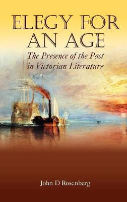 Elegy for an Age: The Presence of the Past in Victorian Literature - Anthem Nineteenth-Century Series (Hardback)