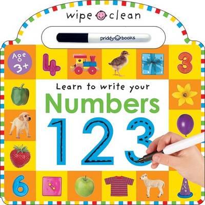 Wipe Clean - Numbers (Hardback)