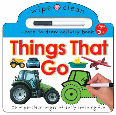 Wipe Clean - Things That Go (Paperback)
