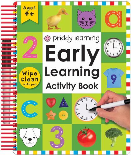 Early Learning Activity Book (Paperback)