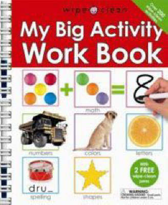 Wipe Clean My Big Activity Work Book (Spiral bound)