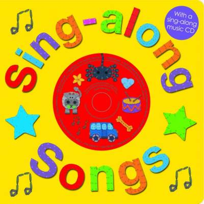 Sing-Along Songs with CD: Sing-along Books (Paperback)