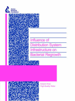 Influence of Distribution System Infrastructure on Bacterial Regrowth - Water Research Foundation Report Series (Paperback)