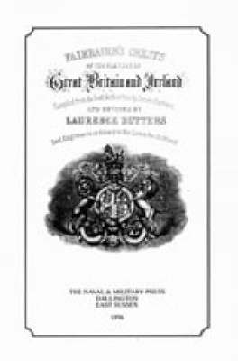 Fair-Bairn's Crests of Great Britain and Ireland (Paperback)