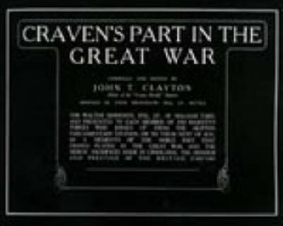 Craven's Part in the Great War (Paperback)