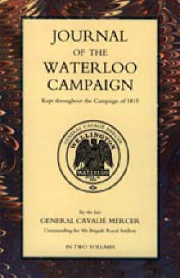 Journal of the Waterloo Campaign (Paperback)