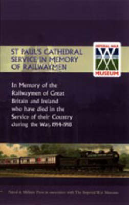 St Paul's Cathedral Service in Memory of Railway Men (Paperback)