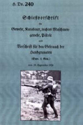 Weapon Training for Rifle and Machine Gun 1931 (Paperback)