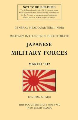 Japanese Military Forces (March 1942) (Paperback)