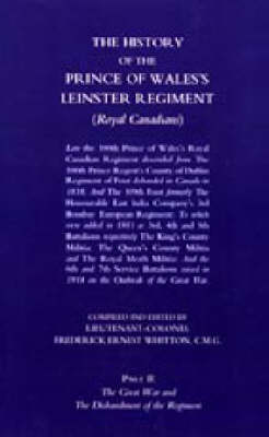 The History of the Prince of Wales's Leinster Regiment (Paperback)