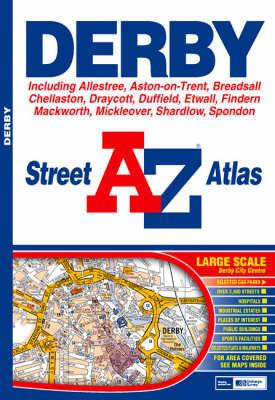 A-Z Derby Street Atlas (Paperback)