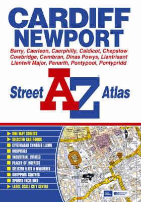 A-Z Street Atlas of Cardiff and Newport - Street Maps & Atlases S. (Paperback)