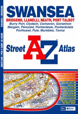 A-Z Swansea Street Atlas (Paperback)