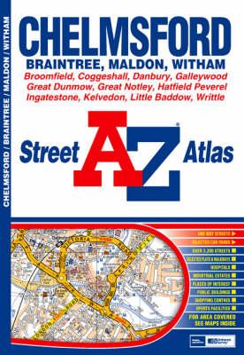 A-Z Chelmsford Street Atlas (Paperback)