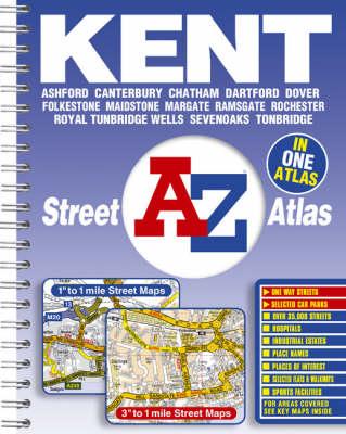 A-Z Kent Street Atlas (Spiral bound)