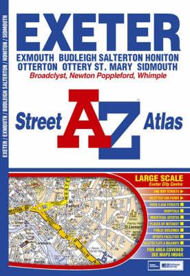 A-Z Exeter Street Atlas - Street Maps & Atlases S. (Paperback)