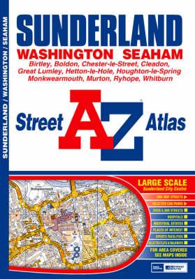 A-Z Sunderland Street Atlas - Street Maps & Atlases S. (Paperback)