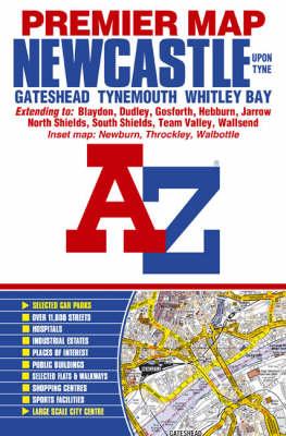 Newcastle Premier Street Map - Street Maps & Atlases S. (Sheet map, folded)