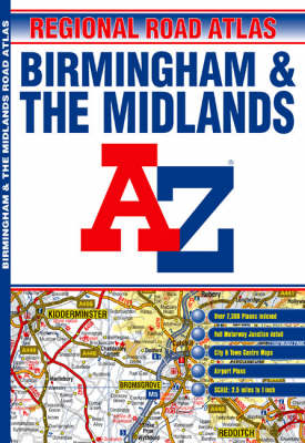 A-Z Birmingham and the Midlands (Paperback)