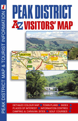 Peak District Visitor's Map (Sheet map, folded)