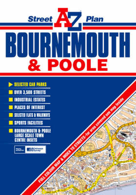 Bournemouth and Poole Street Plan (Sheet map, folded)
