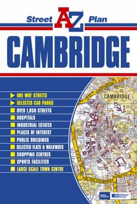 Cambridge Street Plan (Sheet map, folded)
