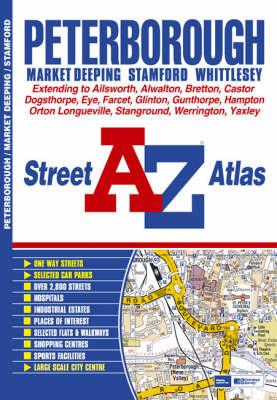 Peterborough Street Atlas (Paperback)